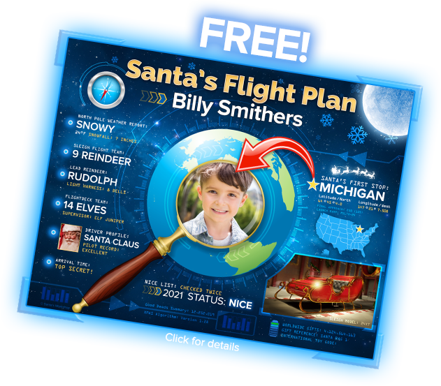 Santa's Flight Plan